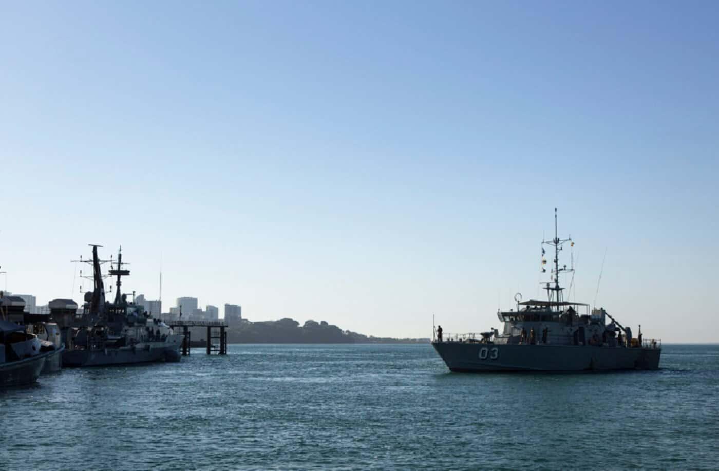 Lombrum Wharf Upgrade Papua New Guinea